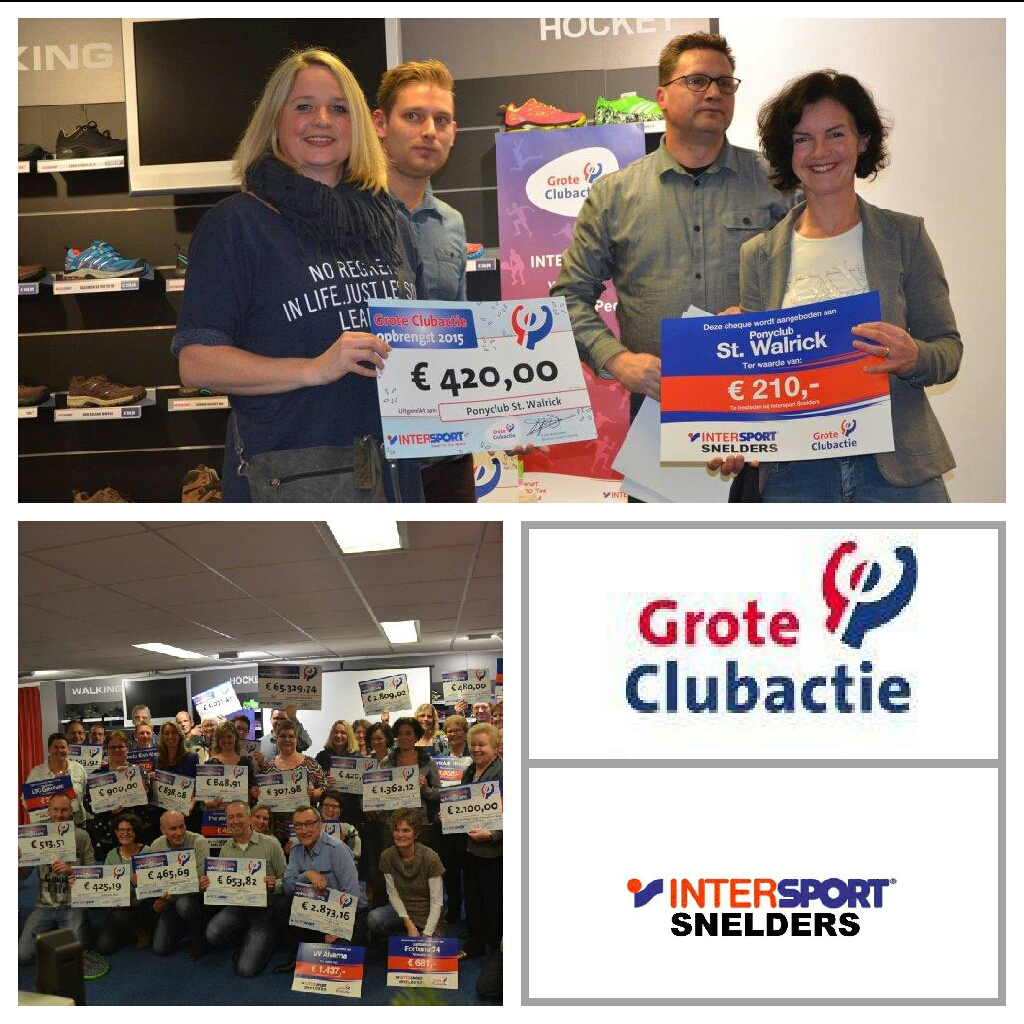 Cheque grote clubactie